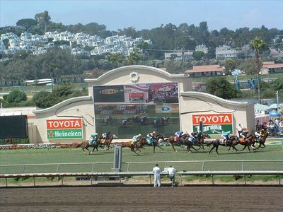 Del Mar bungalow rental - Del Mar Race Track.