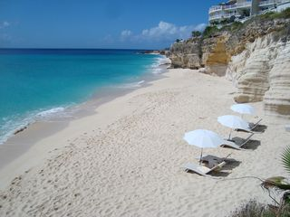 Cupecoy condo photo - The gorgeous beach!