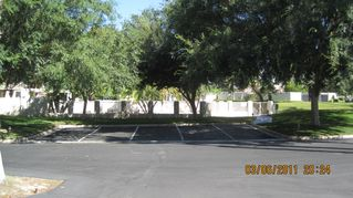 Rancho Mirage condo photo - pool and parking outside front door