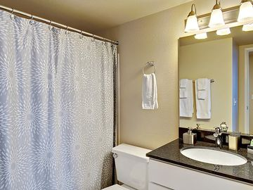 Main Bathroom - Access from hall or Master Bedroom.