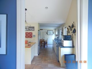 View from mudroom into kitchen - East Orleans house vacation rental photo