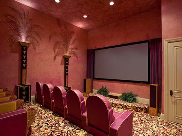 State of the art cinema room