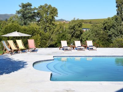 Country family House with big pool,  Spa- & beauty treatments in Winelands