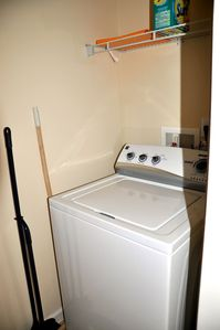 Washer and drier within the unit
