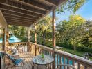 Step onto your private deck, sip your morning coffee as you listen to the birds