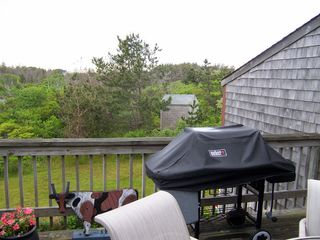 Madaket townhome photo - upper deck view