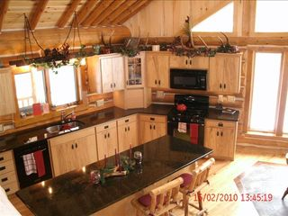 Fish Creek house photo - Large Kitchen