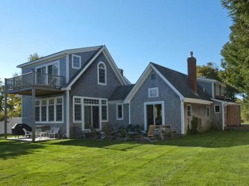 Edgartown cottage rental - Back View of House