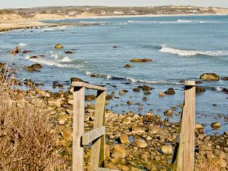 Chilmark house photo - From The Squibnocket Ridge Bluff, You Are Steps Away From Your Own Private Waterfront & Short Beach, One Of The Associations Private Beaches