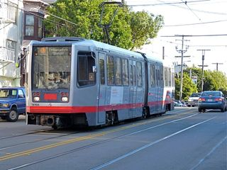 J-Church trolley is a block away - San Francisco apartment vacation rental photo