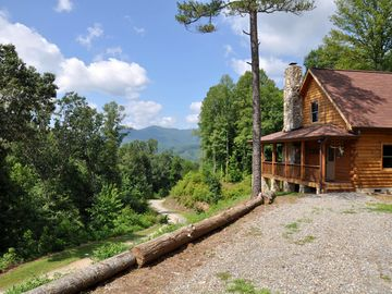 Lake Junaluska cabin rental - Amazing location and view from Jaisel's Cabin!