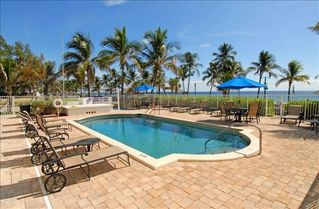 Deerfield Beach condo photo - Beautiful Heated Pool with a View of the Ocean