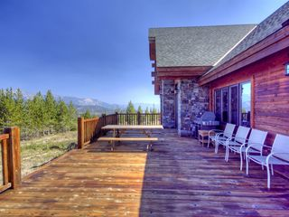 Big Sky house photo - Large deck for summer enjoyment