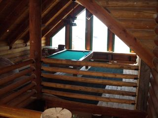 Heber City cabin photo - Play pool and enjoy the spectacular lake view.