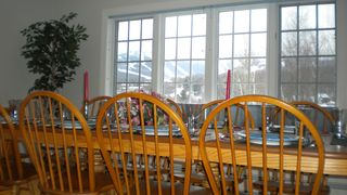 Killington house photo - Views from dining room