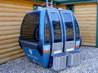 ski gondola (retired this past year at Keystone Ski Area).