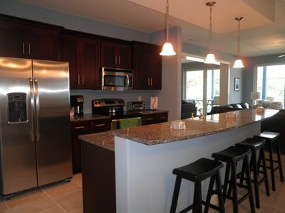 Kitchen with all new Stainless Steel appliances and Granite countertop