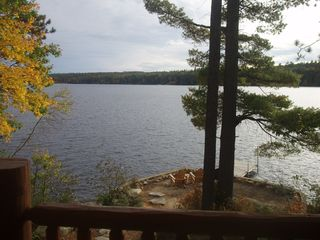 Bridgton house photo - Lake in September