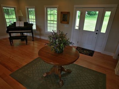 Bennington house rental - Piano Off Living Room