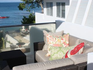 Vieques Island house photo - Upper Lounge area