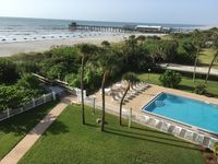 Premier Unit at Cocoa Beach Towers: Top Floor Corner closest to the Ocean & Pier
