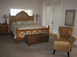 Flagler Beach house photo - Part one of your king size suite. Open the french doors and be blessed.