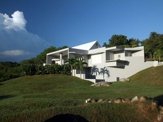 Vieques Island villa photo - from the lower yard