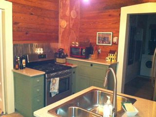 New Braunfels house photo - Gas Stove & microwave