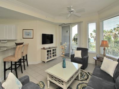 Living Room with Balcony Access at 2208 SeaCrest