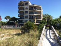 Come stay in a 1 bedroom 2 bath condo right on the beach at discounted rates