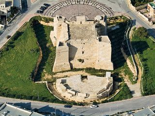Zejtun villa photo - St Thomas Tower Aerial