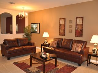 Oakwater townhome photo - Living Room (with Queen Size Sofa Sleeper)