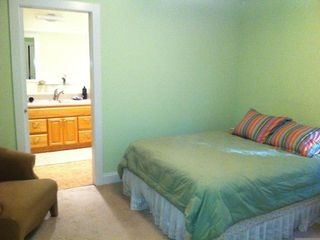 New Buffalo house photo - Master bedroom and bath