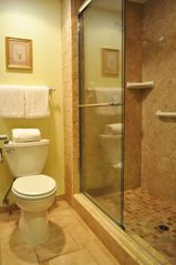 Heavenly Valley studio photo - Walk-In Shower in the Studio Suite Unit at the Stardust Tahoe