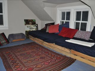 St Paul cabin photo - Double Twin beds, game room.