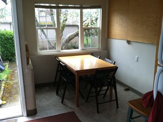 Portland house photo - Breakfast nook. Table expands to hold ten (smallish!) people.