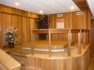 Bartlett studio photo - Great hot tub for your relaxation..