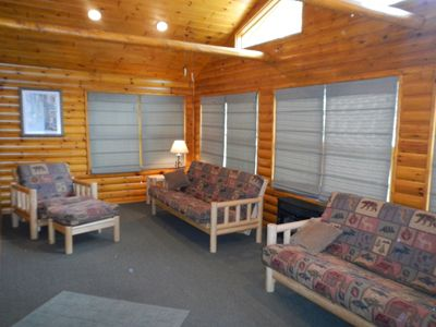 Relax in our Newly furnished SunRoom and just let your worries fade away.