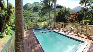 Wainiha house photo - intimate private pool & hot tub