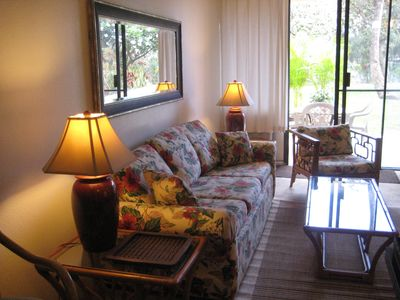 Kihei condo rental - Living Room.
