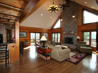 Lake Anna cottage photo - Great Room