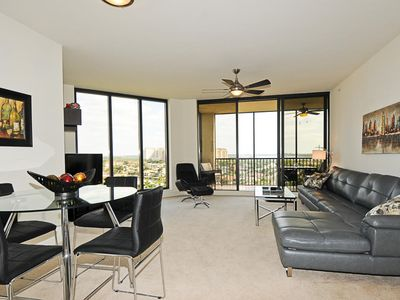 Cape Coral condo rental - Large dining & living area