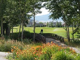 Bozeman townhome photo - The bridge over Bridger Creek