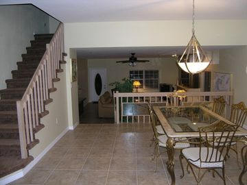 Living/Dining room of 3BR townhouse