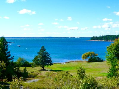 Enjoy Your Panoramic View of Goose Cove & the Islands of Blue Hill Bay