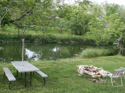 Austin house rental - PICNIC AREA ON BEAR CREEK