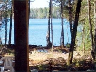 Green Lake cabin photo - Lake as seen from walk-out basement porch area