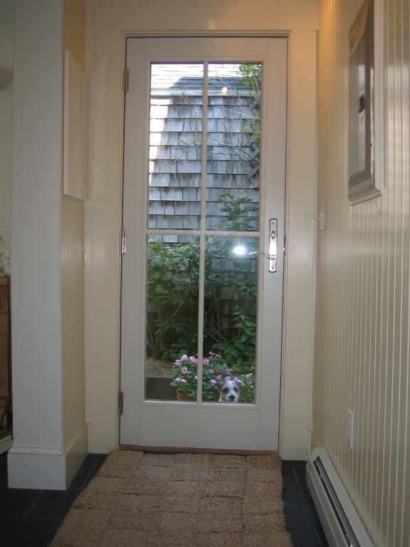 Hall French Door