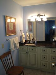 Fernandina Beach townhome photo - Split master bath lets two use comfortably.