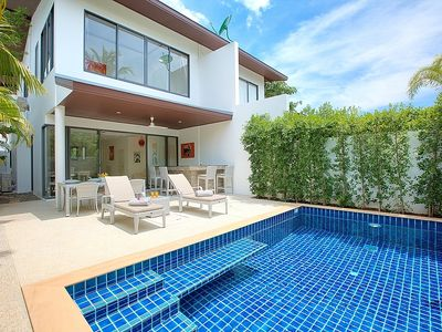 Three Bedroom Villa With Private Pool Close To Fisherman's Village And Chaweng